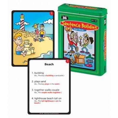 Sentence Building Fun Deck