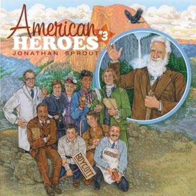 American Heroes #3 Audio CD