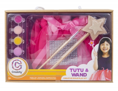 Creatify Tutu & Wand Dress Up Set