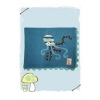 Jedidiah Octopus Blanket
