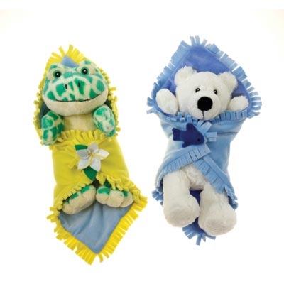 Blanket Babies-Polar Bear